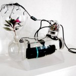 Hydroponic sculpture: Juggernaut by Phil Ross