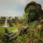Plant Sculptures at the Montreal Mosaiculture Exhibition 2013 - Photy by Guy Boily